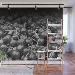 cherries pattern hvhdbw Wall Mural