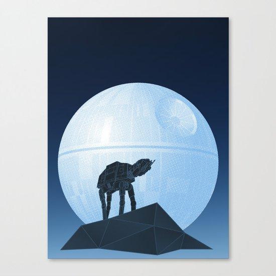 Howl at at the Moon Canvas Print