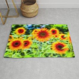 Sunflowers Of Dreams Rug