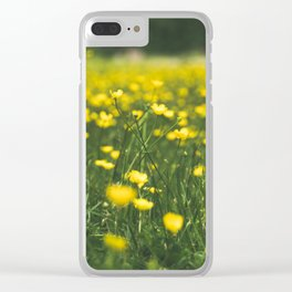 Build Me Up Buttercup Clear iPhone Case
