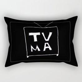 TV Mature Rectangular Pillow