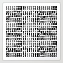 Brushstrokes 1l by Kathy Morton Stanion Art Print