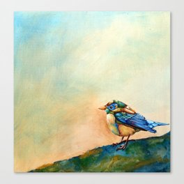 Colorful Bird Canvas Print