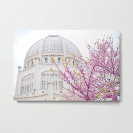 Bahai House of Worship Metal Print