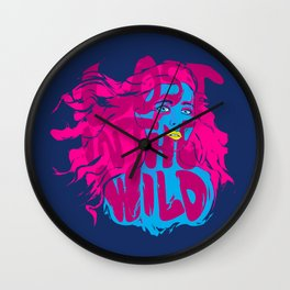 Lost in the Wild Wall Clock