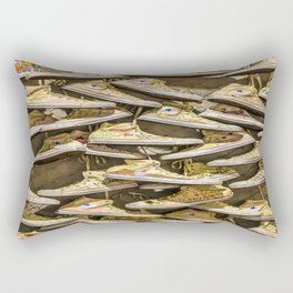 Shoe Art Rectangular Pillow