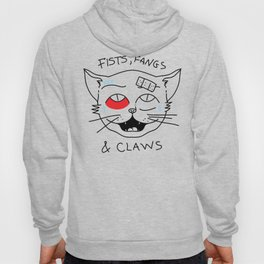 Fist, Fangs & Claws Hoody