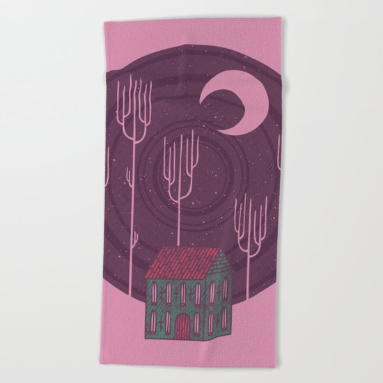Another Night Beach Towel
