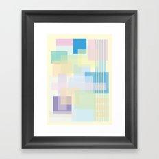 Shape series 1  Framed Art Print