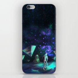 The Aliens Attack The Egyptian Pyramids  iPhone Skin