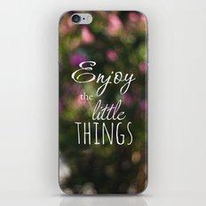 Enjoy iPhone & iPod Skin