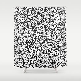 spotted fur Shower Curtain