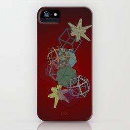 Geo Platonicus iPhone Case
