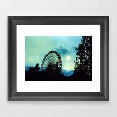 Ferris Wheel I Framed Art Print