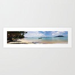 Phuket Beach Panoramic.  Art Print