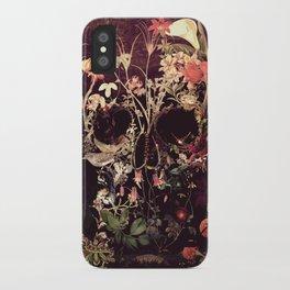 Bloom Skull iPhone Case