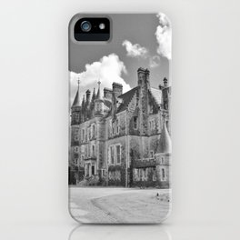 Castle B&W iPhone Case