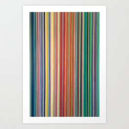 STRIPES 31 Art Print