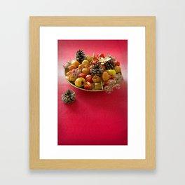 Autumn home decoration Framed Art Print