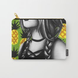 Summer Pinapples Carry-All Pouch