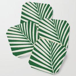 Minimalist Palm Leaf Coaster