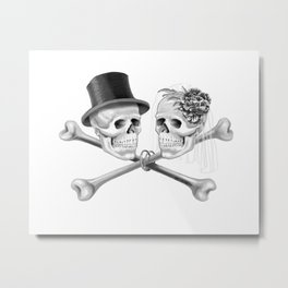 Till Death Do Us Part Metal Print