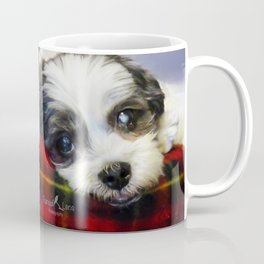 Sleepy pup Coffee Mug