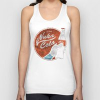 fallout 3 Tank Tops featuring NUKA COLA FALLOUT  by Melroune