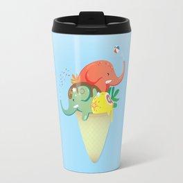 summer cone Travel Mug