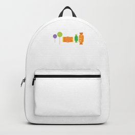 Hallows Eve Spooky Gift Better Have My Candy Halloween Trick Or Treat Backpack