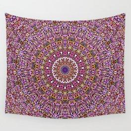 Colorful Spiritual Garden Mandala Wall Tapestry