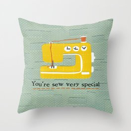 Sew Special Throw Pillow