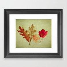 Live Simply . Simply Live Framed Art Print