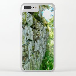 By Hadrian's Wall Clear iPhone Case