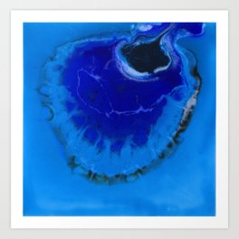 The Infinite Blue Art Print