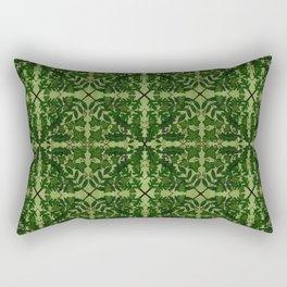 Ancient Wildwoods Tile Pattern Rectangular Pillow
