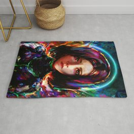 battle angel Rug