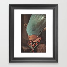the slick Framed Art Print