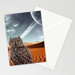Lone Owl Stationery Cards