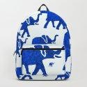 ELEPHANT BLUE MARCH by saundramyles