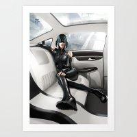 vinyl Art Prints featuring Vinyl by Yvan Quinet