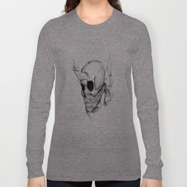 Sunken Skull koi Long Sleeve T-shirt