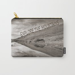 EXPLORE THE MOUNTAINS Carry-All Pouch
