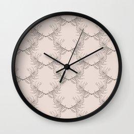leaves i x ii Wall Clock