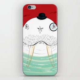 Sir Wilfred Wallace, The Wonderful Walrus iPhone Skin
