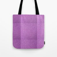 glitter Tote Bags featuring Glitter by mailboxdisco