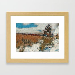 """Snow View"" Framed Art Print"