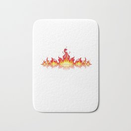 Smokin Hot Grandma Bath Mat