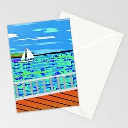 Key West Boardwalk Stationery Cards