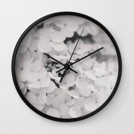 Cloud of Petals Wall Clock